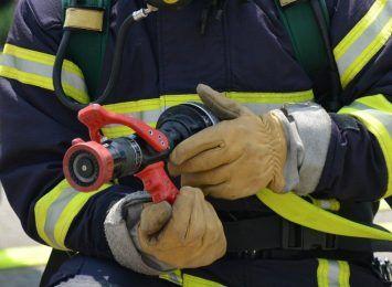 Pożar w Raciniewie. Strażacy z regionu otrzymali nowy sprzęt