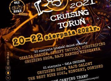 Już w piątek startuje Cruising Toruń 2021