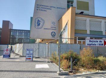 Nie wiadomo, czy stary budynek szpitala na Bielanach zostanie wyburzony