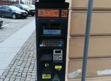 Nowe, ekologiczne parkomaty w Toruniu