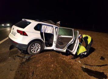 Tragiczny wypadek koło Torunia. Nie żyje 73-letnia pasażerka