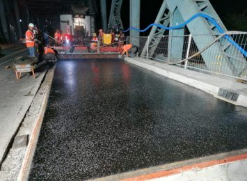 Cały tydzień nocnych prac na moście [FOTO]