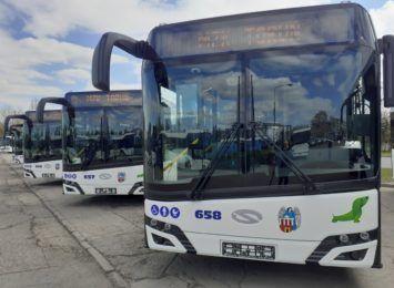 Na ulice Torunia wyjedzie osiem nowych autobusów