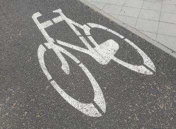 Nietypowe zdarzenie na ścieżce rowerowej na toruńskiej Skarpie