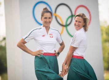 Jolanta Ogar z medalem Igrzysk Olimpijskich