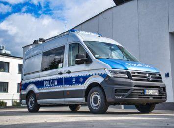 Ambulans trafi do toruńskiej drogówki