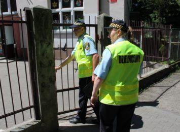 Strażnicy miejscy kontrolowali okolice toruńskich szkół