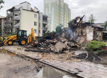 Trwa śledztwo w sprawie wybuchu w domu przy Wybickiego