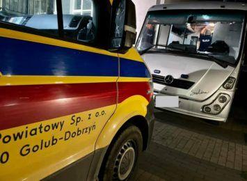 W Lubiczu zatrzymano samochód z 42 obcokrajowcami
