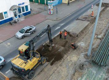 Czy sytuacja drogowa na ulicy Broniewskiego uległa poprawie?